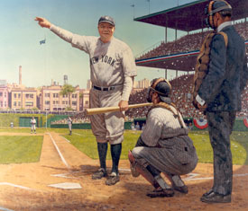 Babe ruth shot
