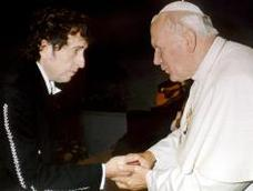 Dylan_with_the_pope