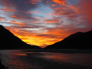 Kiwi_sunset