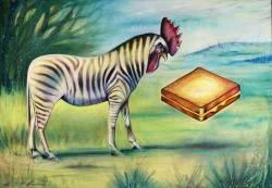 Zebra_rooster