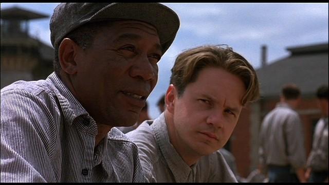 I am Morgan Freeman in The Shawshank