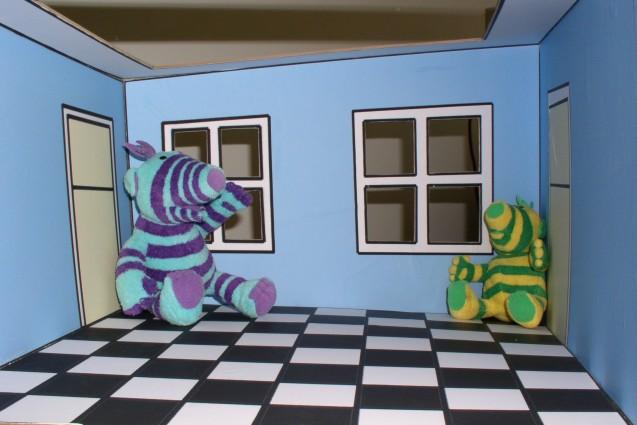 growabrain: The Ames room