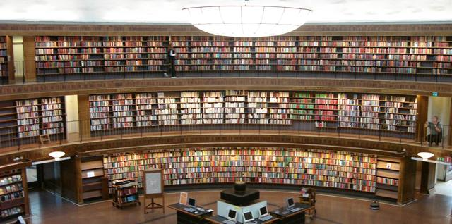 The Stockholm Public Library,