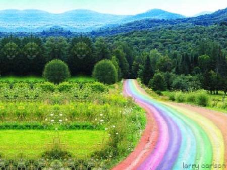 arco iris de fantasia