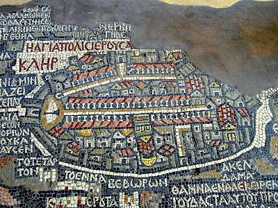 map of ancient egypt cities. Ancient Maps of Jerusalem