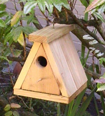 Growabrain real estate archives for Wooden bird house plans